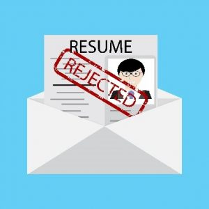 Resume rejection